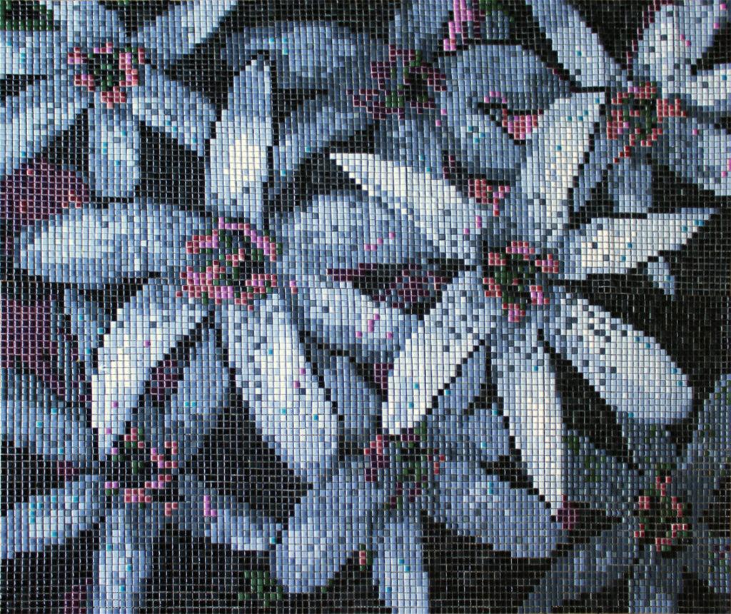 Ardea Arte mozaika kwiaty