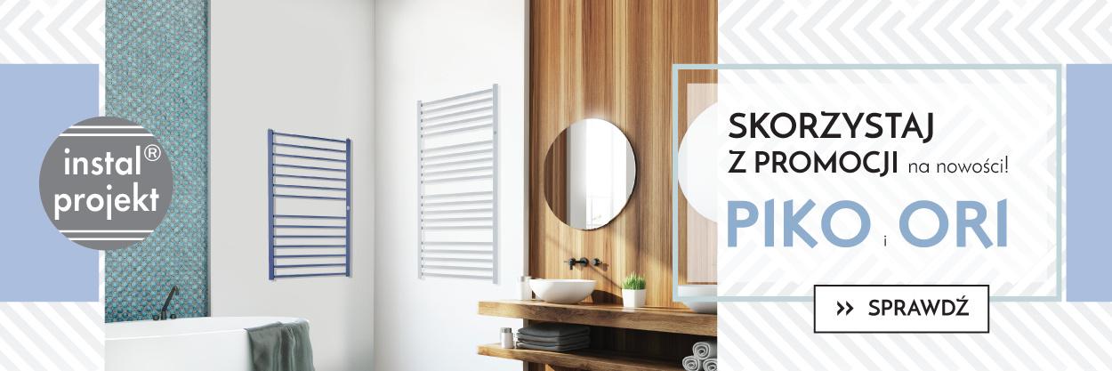 Grzejniki łazienkowe Promocja Instal Projekt