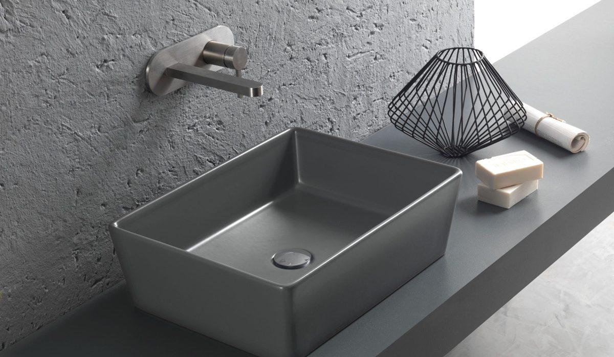 Hatria happy hour lavabo antracite
